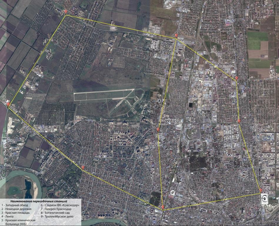 ВКраснодаре представили проект «канатного метро»