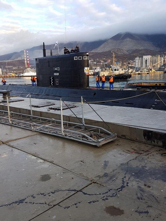 бригада подводных лодок в новороссийске