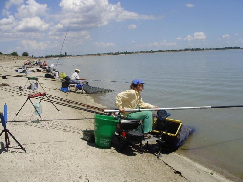 Рыбалка на водохранилище краснодарском