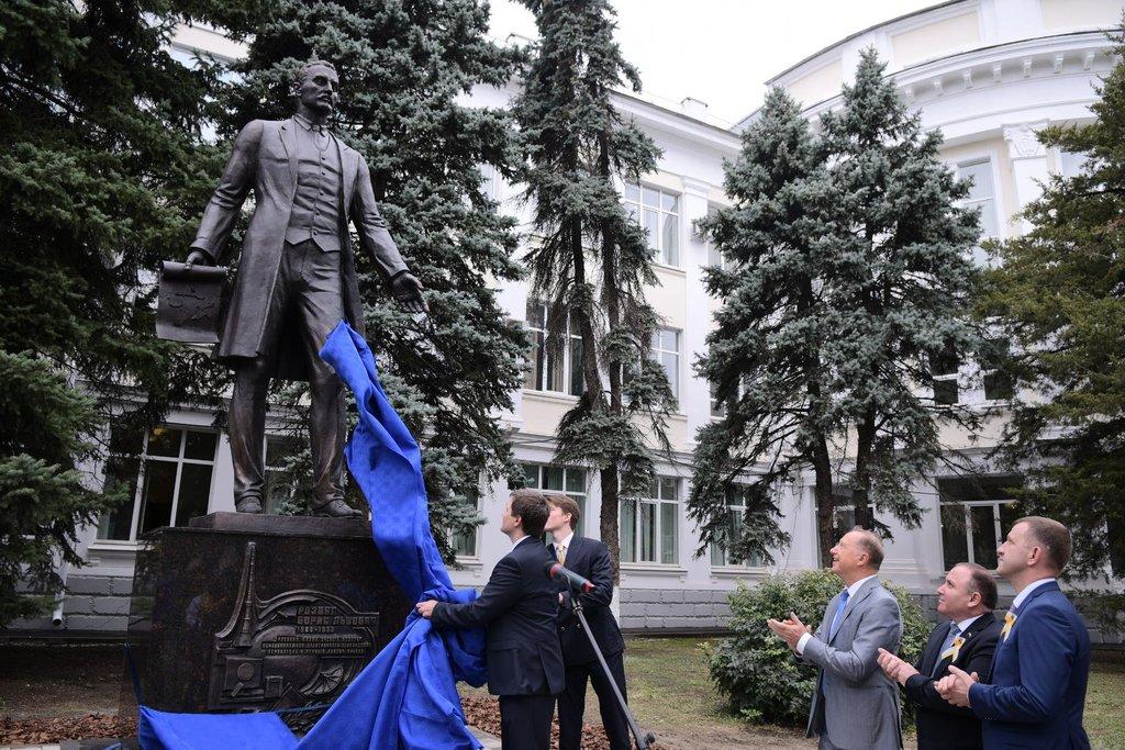 Открытие памятника Борису Розингу в Краснодаре
