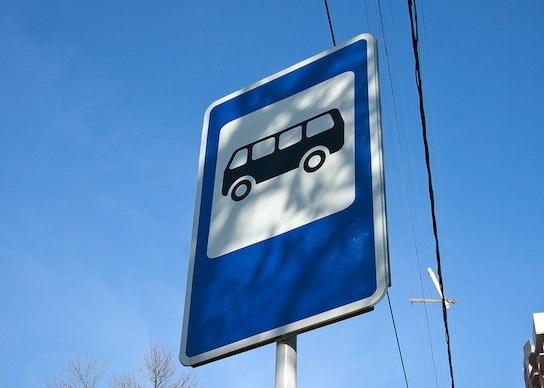 схема движения автобусного