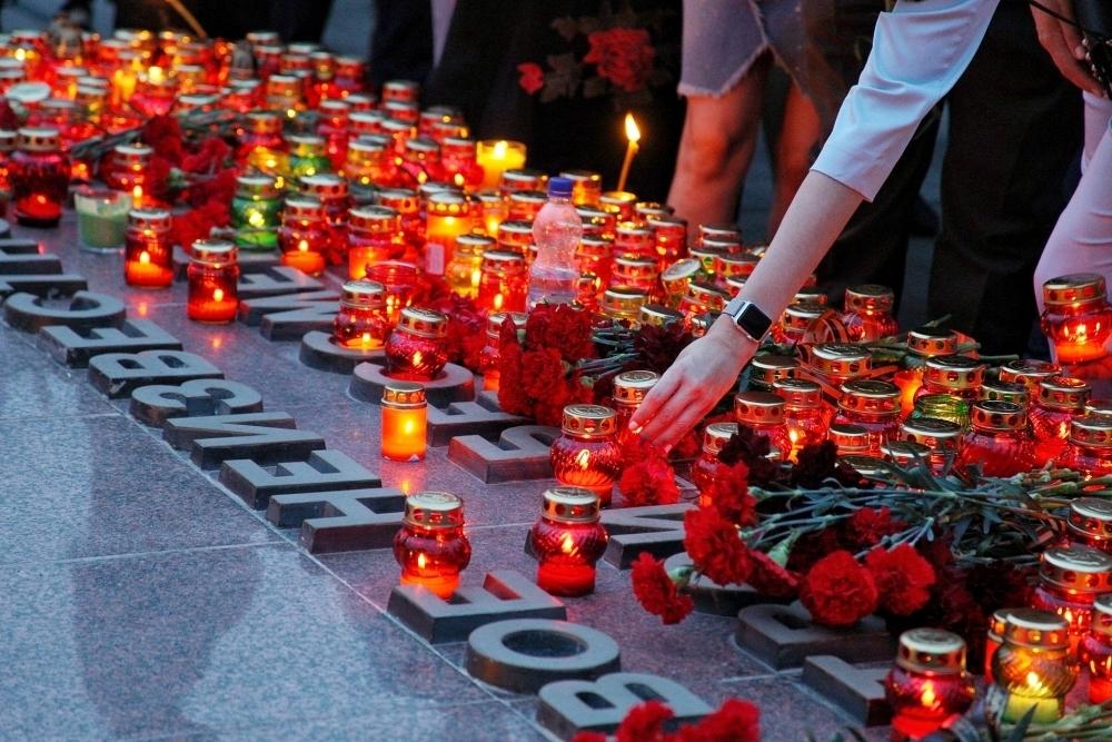 Цель акции свеча памяти