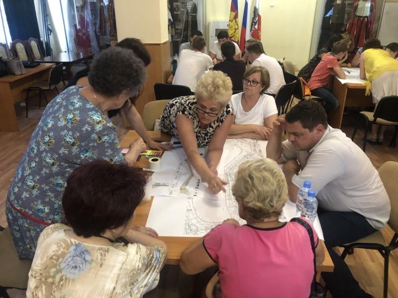 Проекты благоустройства городского пространства в Краснодаре разработают вместе с жителями