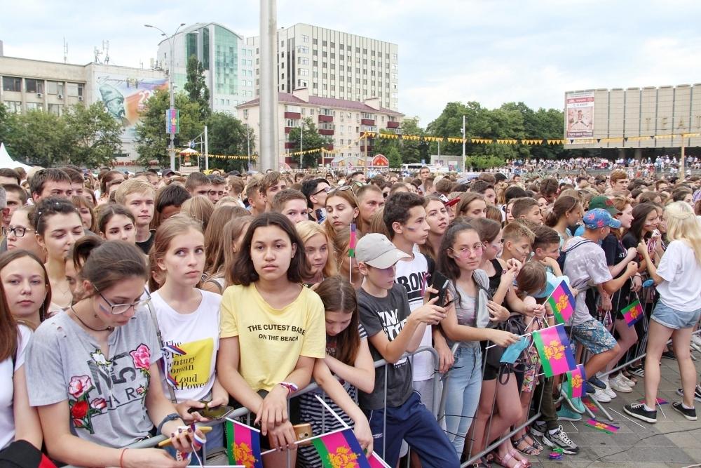 Фото после день россии в краснодаре